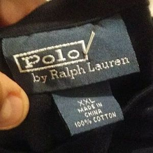 Polo by Ralph Lauren Shirts - VINTAGE RALPH LAUREN POLO HANDCRAFTED tshirt 2xl